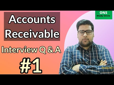 Accounts Receivabe Interviews Questions And Answers (Part -1)