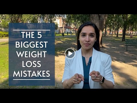 Top 5 weight loss mistakes | Watch if you are not losing weight | By Lavleen Kaur (Dietitian)
