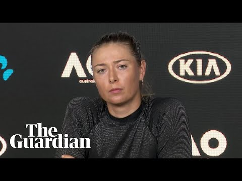 Maria Sharapova rebuffs questions on meldonium and booing after Australian Open exit