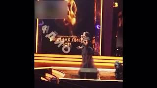 Ольга Бузова забыла текст на премии высшая лига новое радио 30 11 2017