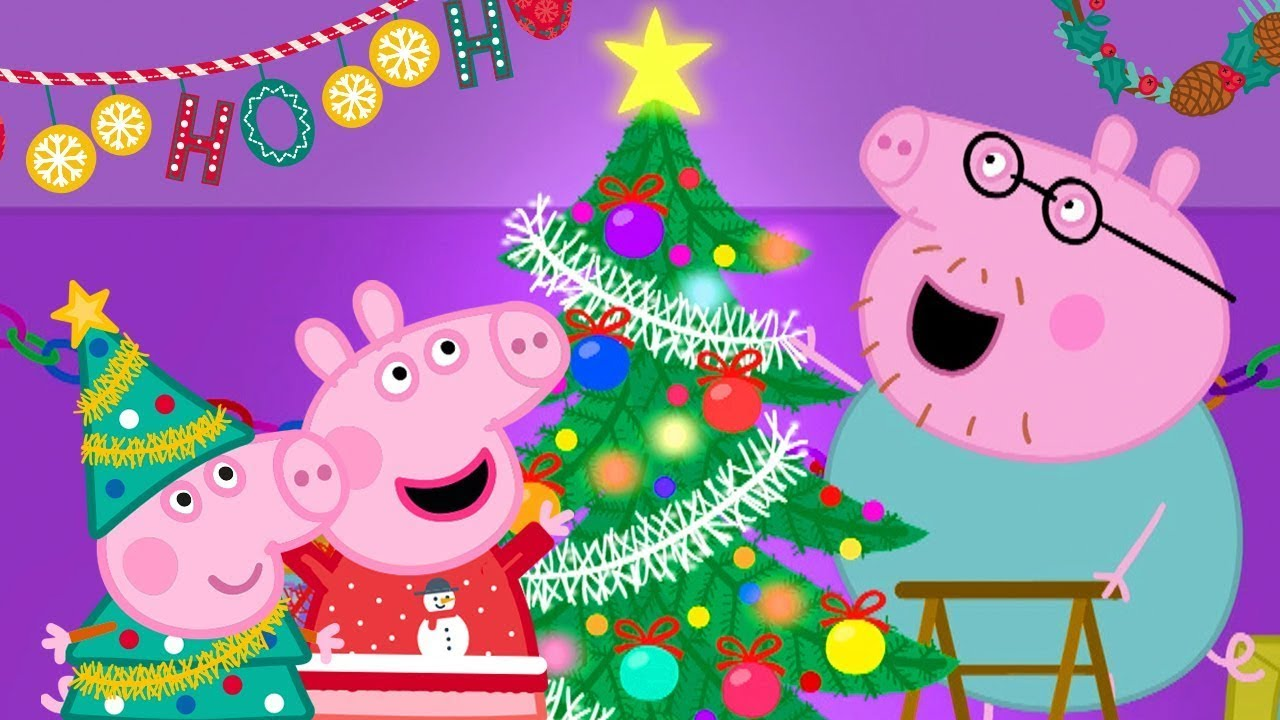 Download Peppa Pig Official Channel 🎄 Putting up Christmas Tree with Peppa Pig