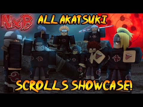 ALL AKATSUKI SUBJUTSU SHOWCASE IN NARUTO RPG: BEYOND! (ARE THESE THE BEST IN THE GAME?!)