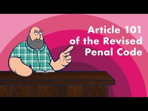 [TORTS AND DAMAGES] Article 101 of the Revised Penal Code