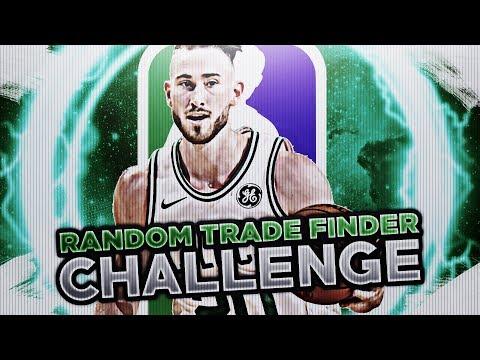 RANDOM TRADE FINDER CHALLENGE! NBA 2K18 MY LEAGUE