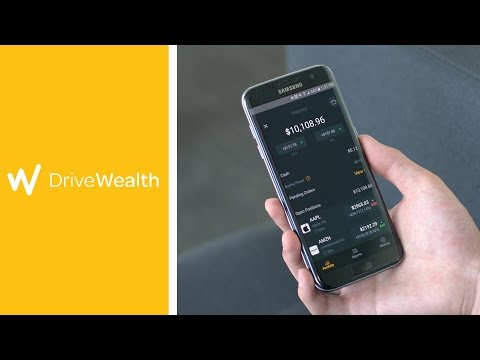DriveWealth Investment App Review