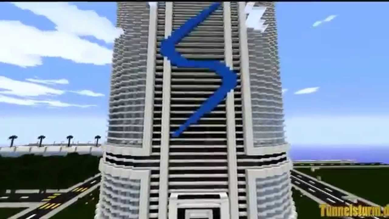 Minecraft modern city german server deutscher server - Minecraft hochhaus ...