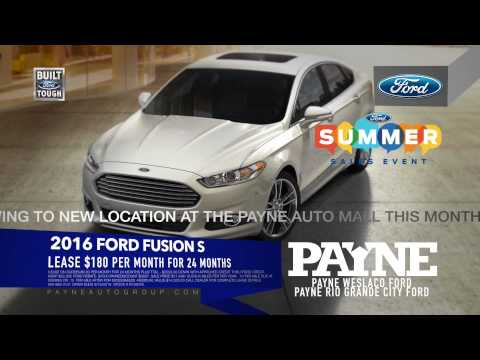 2016 Ford Fusion $180/mo | Payne Weslaco Ford | Weslaco, Texas