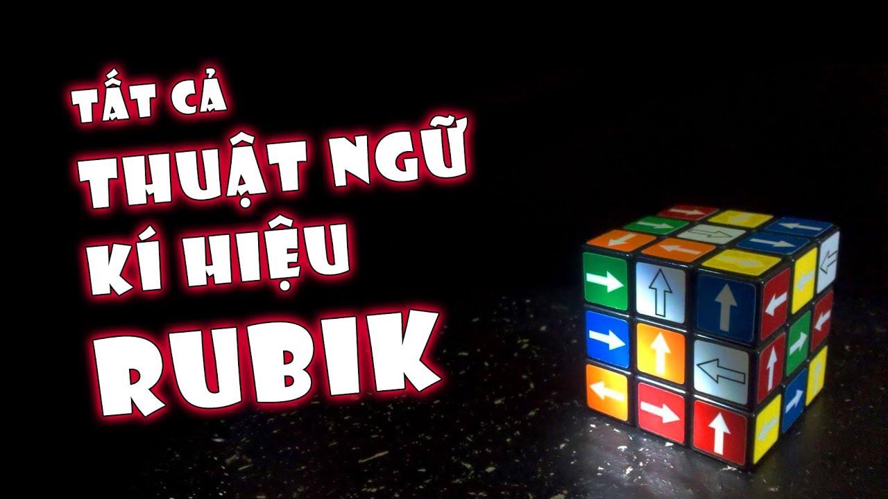Tất cả Thuật ngữ và Ký hiệu Rubik | Rubik Ocean