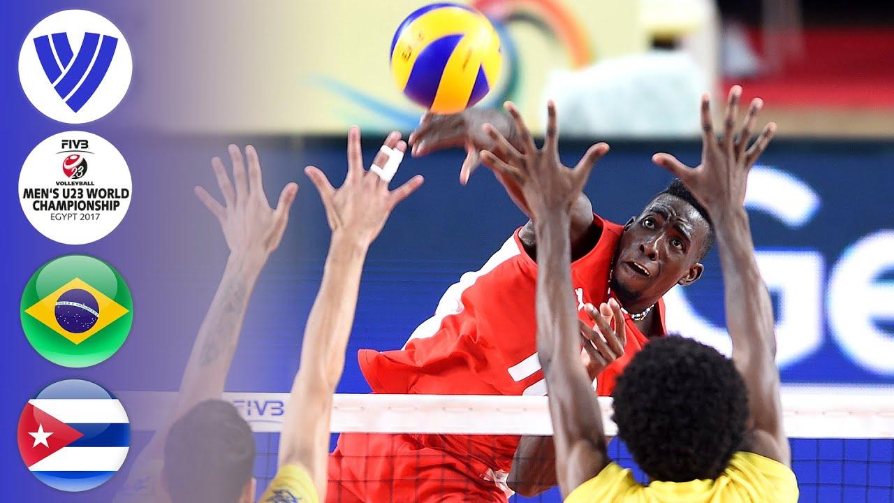 BRA vs. CUB - Full Bronze Medal Match | Men's U23 World Championship 2017