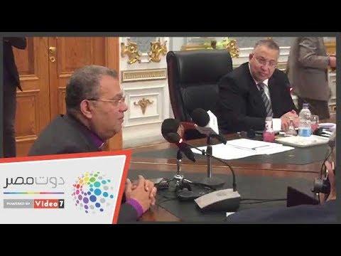 رئيس الطائفة الإنجلية لوفد أمريكي: نواجه حرب مغرضة للنيل من مصر