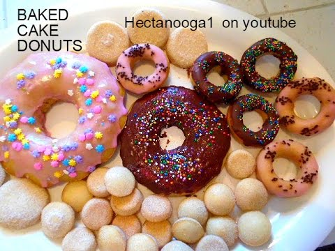 Cake Style Baked Donuts Recipe No Eggs Dairy Kneading Vegan
