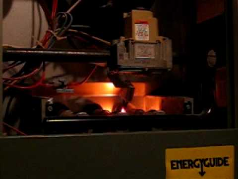 Furnace Start up Hot Surface Ignitor - YouTube