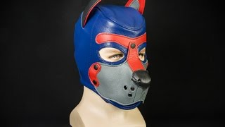 Mr S Leather K9 Hood For Human Pup Play
