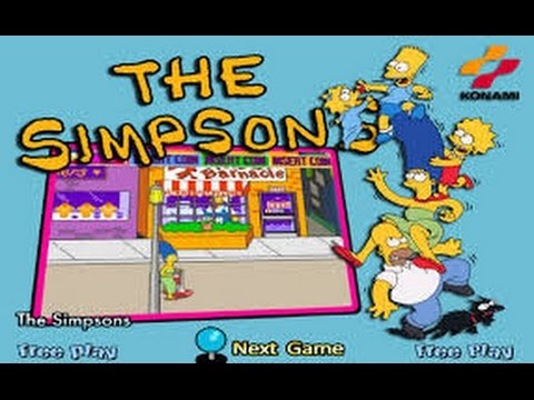 the simpsons arcade game rom download