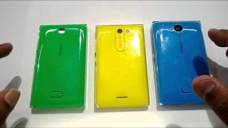 Nokia Asha 500 vs Asha 502 vs Asha 503