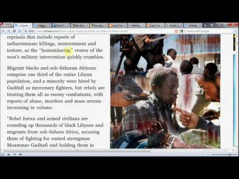 Blacks in Libya Being Held at 'FEMA Style Camps' - Freedom N