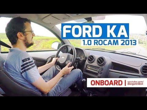 Como anda o Ford Ka 1.0 Rocam? | Onboard #DT