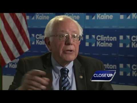 CloseUP: Bernie Sanders on life after the election