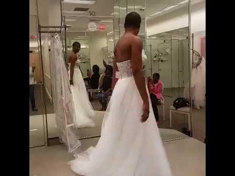 Wedding Dress Shopping Time (at David's Bridal)
