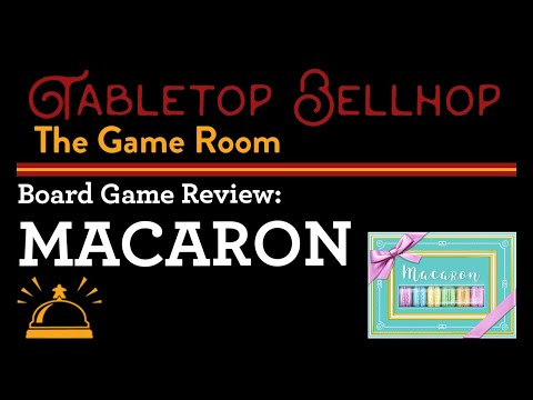 REVIEW Macaron, A Modern Trick-Taking Card Game that includes a Unique Voting Mechanic