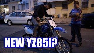 IS HE GETTING A NEW YZ85 ?? | BRAAP VLOGS