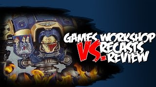 Recasts Vs Games Workshop - Imperial Knight Review