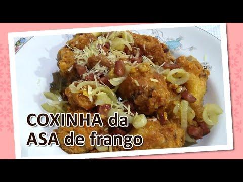 Como preparar COXINHAS DA ASA DE FRANGO crocante