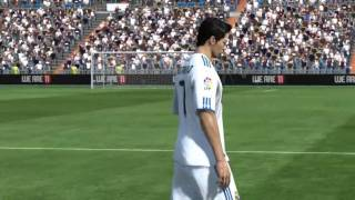 FIFA 11 PC Gameplay Barcelona vs Real Madrid [HD]