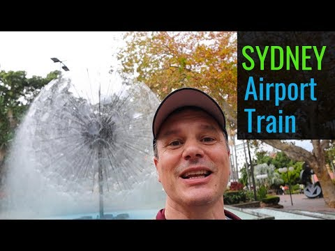 Sydney Airport Train  - Airport Link