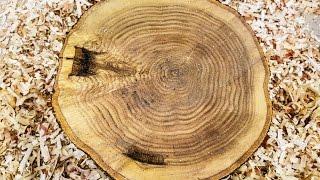 Woodturning Live Edge Oak Bowl