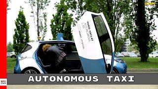 Autonomous Electric and Shared Renault ZOE Cab