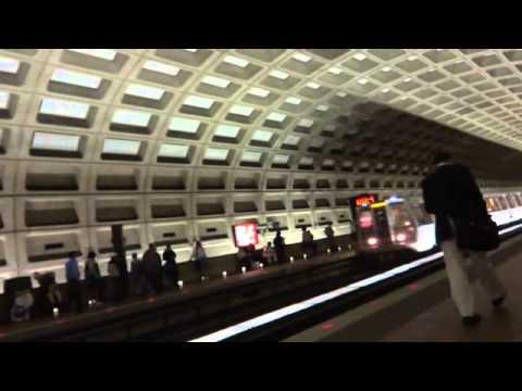 Heiner y Randall de costa rica en el metro de Washington dc