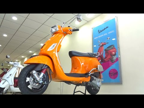 Vespa SXL 150 First Ride Review Walkaround #ScooterFest