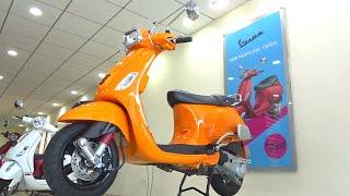 #ScooterFest: Vespa SXL 150 Walkaround Review, Test Ride (Matte Red, Orange colours)