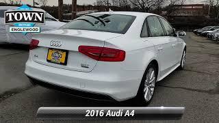 Used 2016 Audi A4 2.0T Premium, Englewood, NJ PAA9959