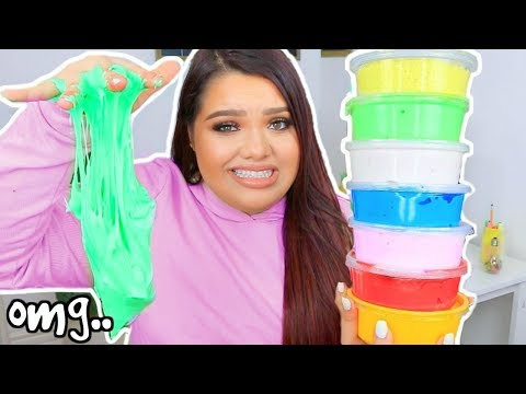 SLIME PACKAGE REVIEW! Etsy Slime Shops! UniicornSlime, SquishyBunnii & More!