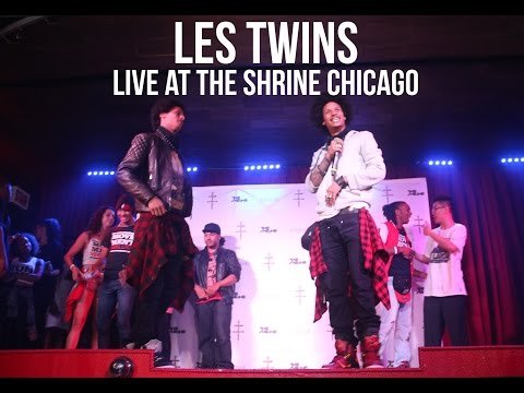 LES TWINS - LIVE IN CHICAGO @ THE SHRINE (HD)
