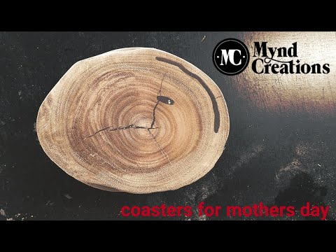 #woodwork #nosmallcreator  Making wood coasters for mothers day