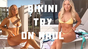 c30f7634c7 Bikini tryon Reviews playlist - YouTube