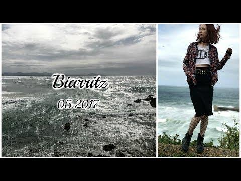 Biarritz sous la pluie + Look !
