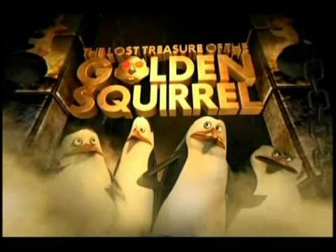 "(HQ) Penguins -  ""The Lost Treasure of the Golden Squirrel"" Official Trailer"