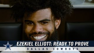 Ezekiel Elliott Is Ready To Prove That He's The Best Back in the Game | Dallas Cowboys 2018