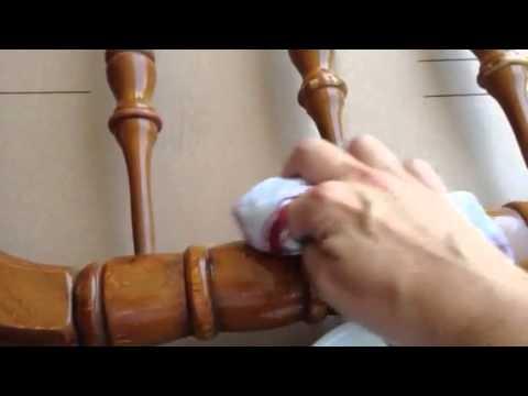 Oil and Vinegar furniture scratch remover