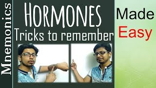 How to remember hormone and their functions with easy trick