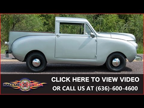 1947 Crosley Round Side Pickup For Sale