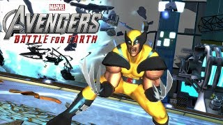 Marvel's The Avengers: Wolverine Vs The Mighty Thor and Spiderman