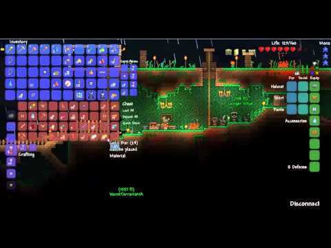 how to find corruption in terraria