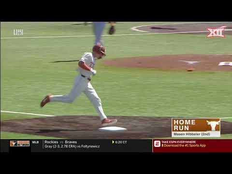 West Virginia vs Texas Baseball Highlights - Game 2 |