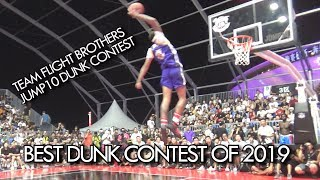 BEST Dunk Contest of 2019 | Jonathan Clark vs Jordan Southerland vs JusFLY/ Jumpin Joe in Shanghai! Video