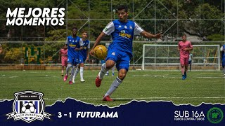 ARCO ZARAGOZA 3 - 1 Futurama | MEJORES MOMENTOS | LAF SUB 16A Primera Fase